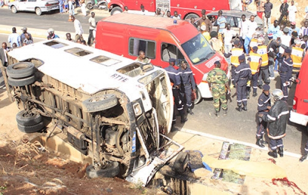 Accident de la circulation : 30 morts déjà sur les routes de Touba