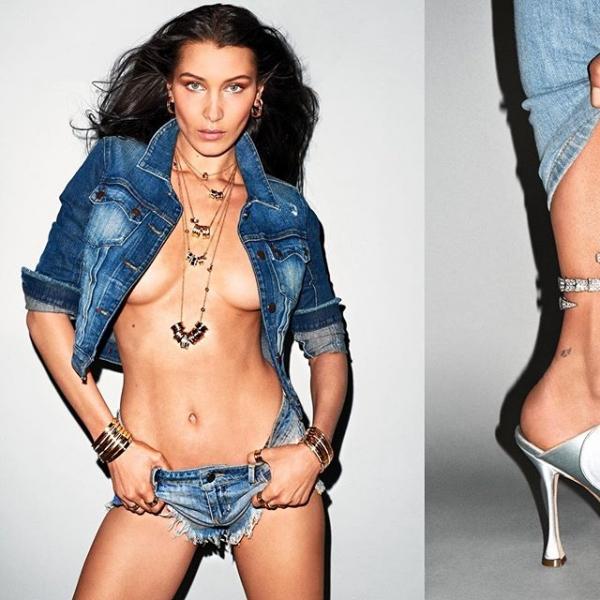 Bella Mini Sexy En Plus Hadid Topless Et Short Que Est Jamais nE7qWIq