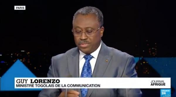 guy lorenzo ministre togolais de la communication revient sur la crise au togo. Black Bedroom Furniture Sets. Home Design Ideas