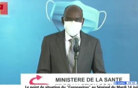 "Direct Le point de situation du ""Coronavirus"" au Sénégal du Mardi 14 Juillet 2020"