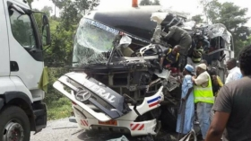 ACCIDENT : CAMEROUN : 53 MORTS DANS L'INCIDENT D'UN BUS APRÈS UNE COLLISION