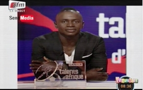 Sadio Mané remporte le trophée « talent d'or » de Canal Plus