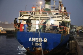 International traffic: VESSEL INTERCEPTED BY THE NAVY: THE DRUGS WAS DESTINED FOR THE CÔTE D'IVOIRE